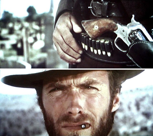 Clint Eastwood, search everything and fight