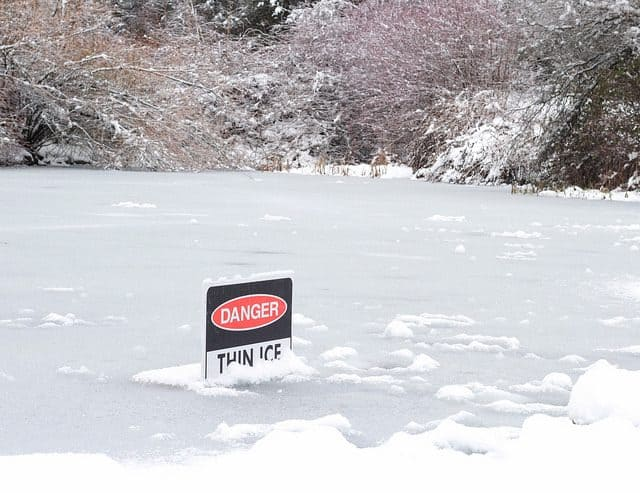 Starting a new business is like Walking on thin ice